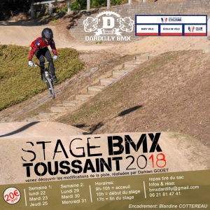 Stages Toussaint 2018